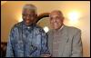 Ахмед Катрада и Нельсон Мандела
